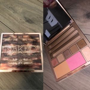"naked ""on the run"" pallet"